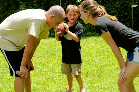 Trinity mission_football play