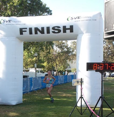 Kids Triathlon in Menlo Park draws 400 particpants