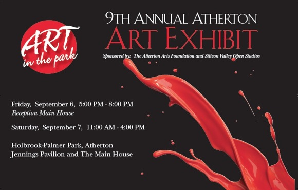 Atherton Arts Foundation holds annual exhibit in Holbrook Palmer Park on Sept. 6 and 7