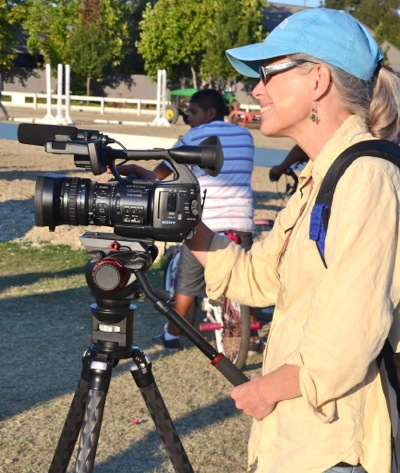 Singing, filmmaking, riding – they're all part of Katy Boyd's life
