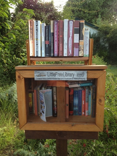 Spotted: Another Little Free Library in Menlo Park's Allied Arts neighborhood