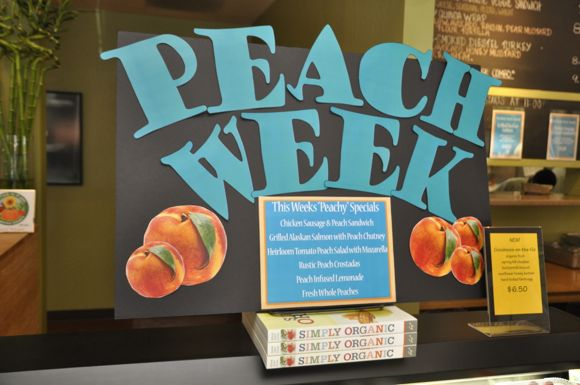 Peach Week at Cool Cafe