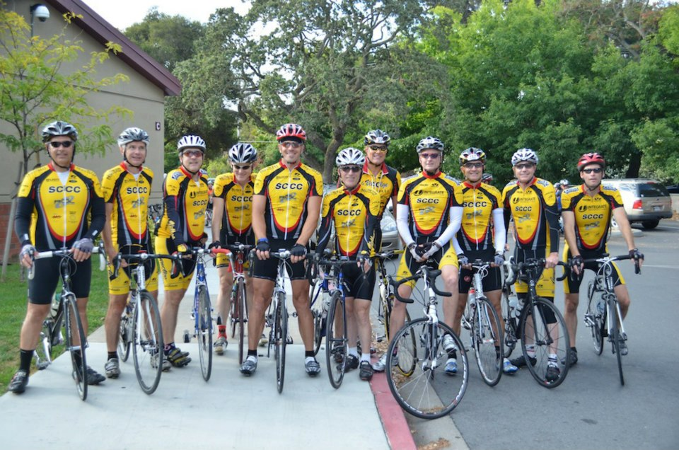 participants in 2012 Tour de Menlo