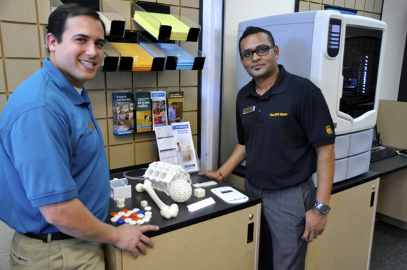 3D printing is offered at Menlo Park The UPS Store