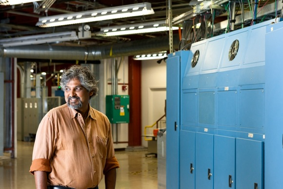 Beamline scientist Apurva Mehta reminds us that SLAC is no longer about atom smashing