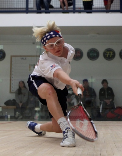 Gabriel Morgan, champion squash player from Menlo Park, CA