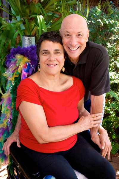 Molly and Jeramy Hale of Ability Productions at their Menlo Park home