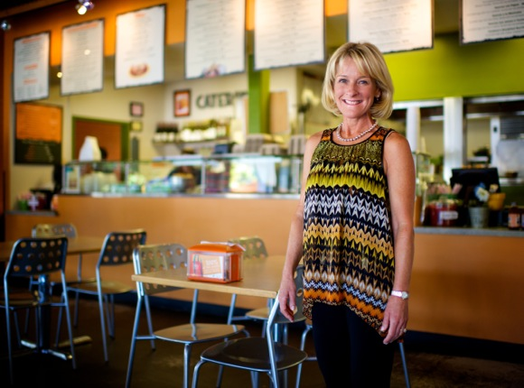 Natalie Richardson of LuLu's Mexican food restaurants