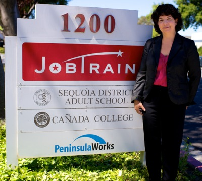 JobTrain Executive Director Nora Sobolov
