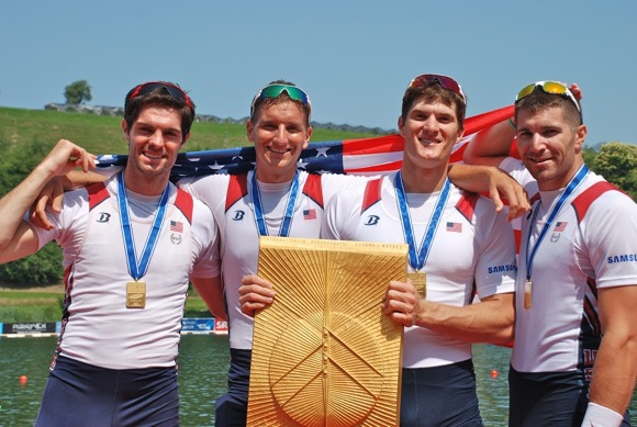 Seth Weil returns to Menlo Park a rowing champion