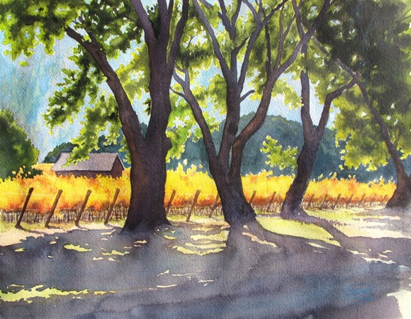 "Post image for ""The Watercolor Landscape"" is October exhibit at Portola Art Gallery in Menlo Park"