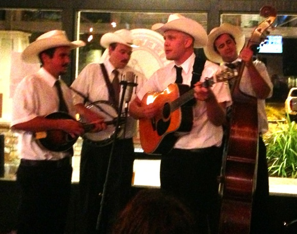 Spotted: Windy Hill band playing bluegrass music at Freewheel Brewing