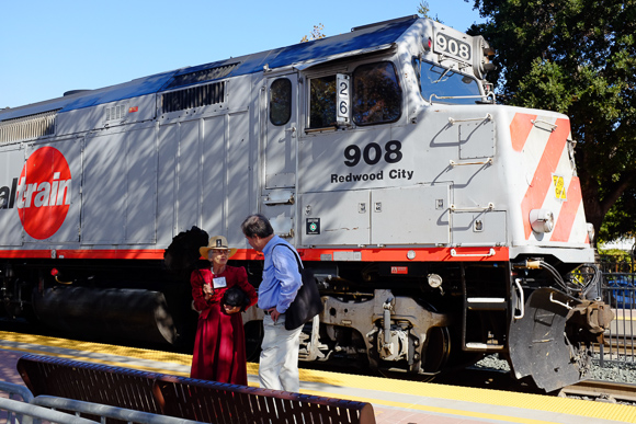 Post image for Caltrain's 150th Anniversary Celebration at Menlo Park