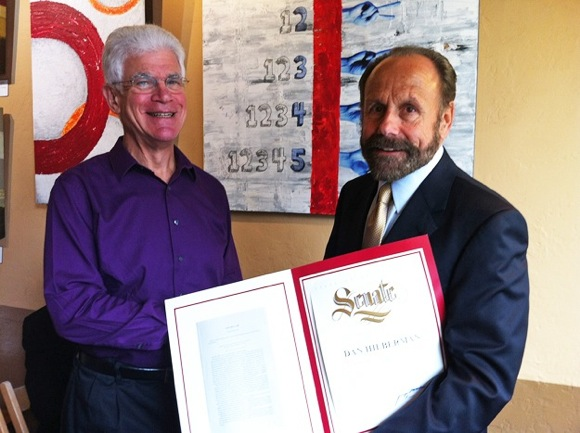 Menlo Park resident Dan Hilberman wins Senator Jerry Hill's