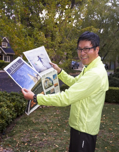 Menlo Park resident Lyndon Wong