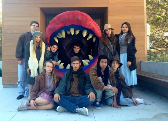 Menlo School Little Shop of Horror cast1