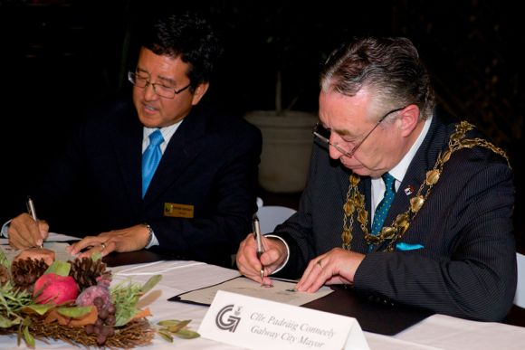 Menlo Park's Sister City agreement with Galway marks 7th anniversary