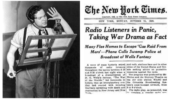 Post image for Salon Menlo looks back at War of the Worlds on its 75th anniversary on October 27