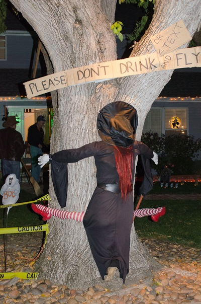 Don't fly and drive_Halloween 2013