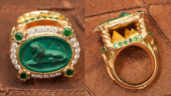 Ring created by Erin Mac
