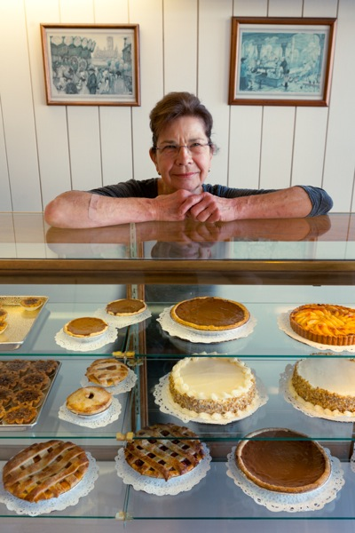 Martha Merz of Martha's Pastries in Menlo Park