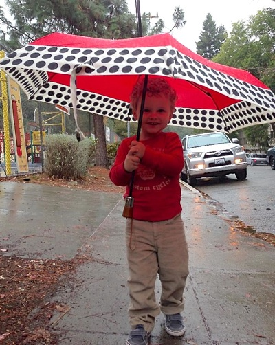 Post image for First rainfall in Menlo Park since September 21, making for a long dry spell