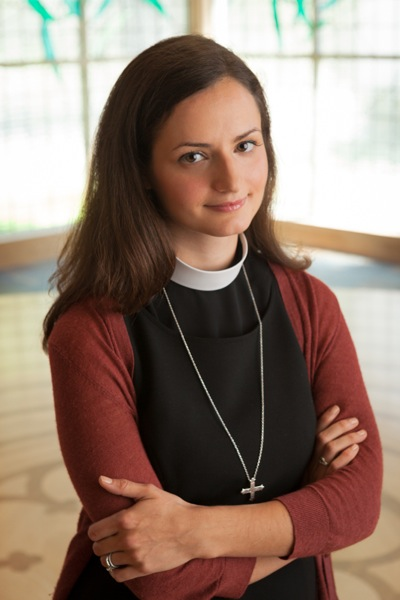 The Rev. Elizabeth Riley, associate rector, Trinity Church, Menlo Park