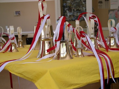 Handbells add to the sound of Christmas at Trinity Church in Menlo Park