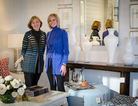Cathy Ellis and Laura Pohlen bring contemporary home furnishing and design to ParkGate in Menlo Park