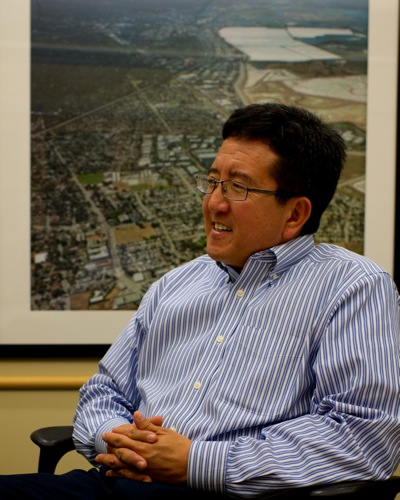 Mayor Peter Ohtaki of Menlo Park, CA