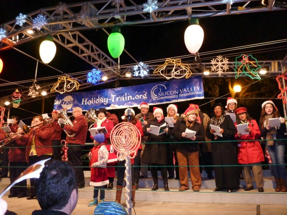 Santa show on train_Laura