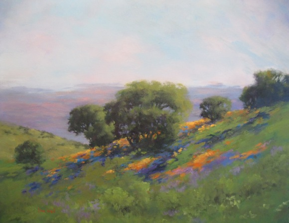 Post image for Artist Alice Weill's oils and acrylic landscapes showcased at Portola Art Galley in Menlo Park