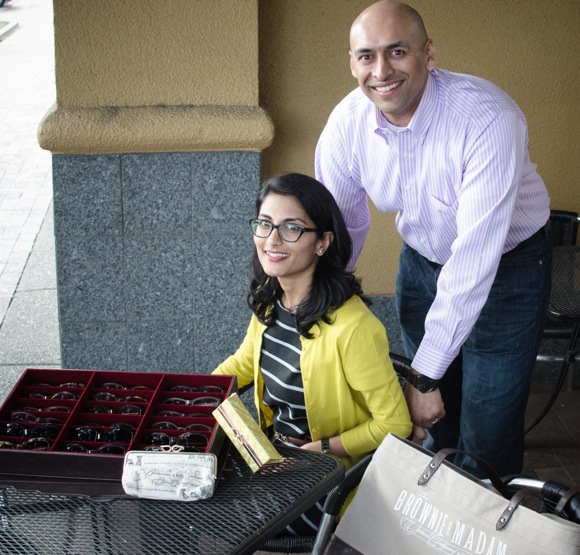 Menlo Park couple starts eye glass company with a shout out to two pioneering businesswomen