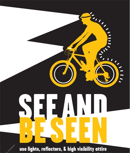 Post image for Safety tips for walkers, runners and cyclists to think about in the new year