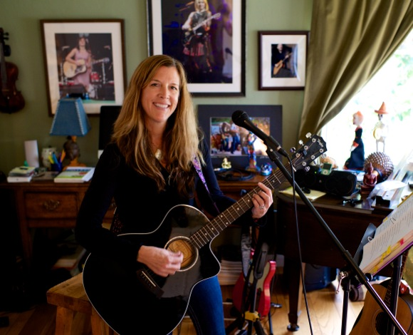 Laurie Knox rounds up local musicians for a typhoon relief benefit at Freewheel Brewing Company