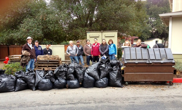 Faculty and staff at Sacred Heart Schools in Atherton give back via community service day