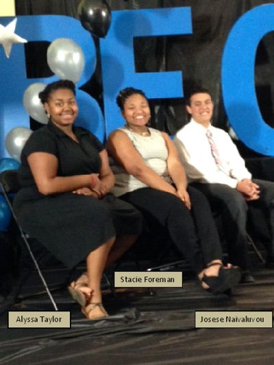 Mid-Peninsula junior Stacie Foreman named Boys and Girls Club of the Peninsula Youth of the  Year