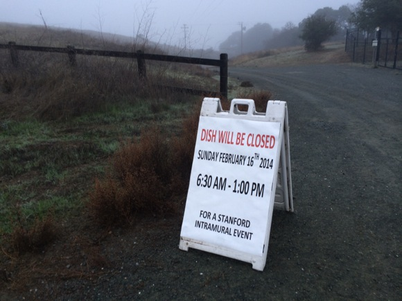 Post image for Heads up to local walkers and runners – Dish closed Sunday, Feb. 16 until 1:00 pm