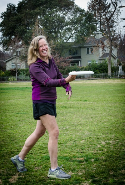 Hooked on Ultimate Frisbee, Jen Overholt passes on the sport to another generation