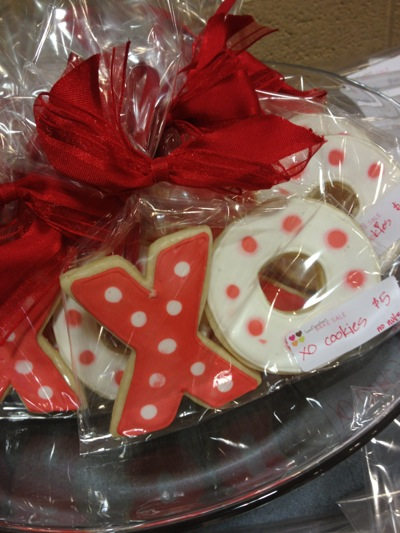 Post image for Spotted: Valentine goodies for sale at Laurel School