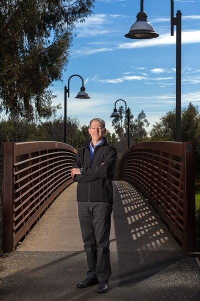 Post image for Len Materman talks about San Francisquito Creek as it moves through Menlo Park