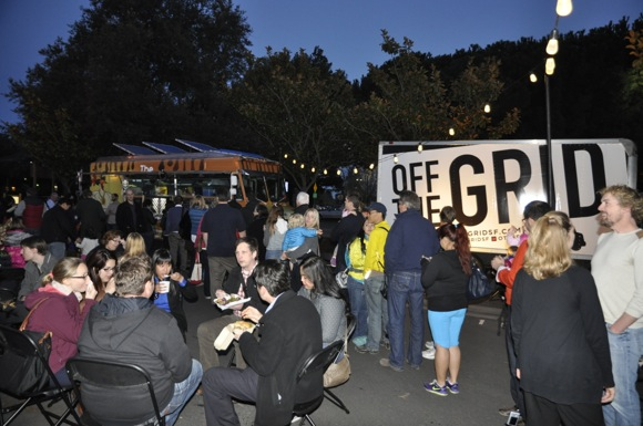 Off the Grid food trucks in Menlo Park