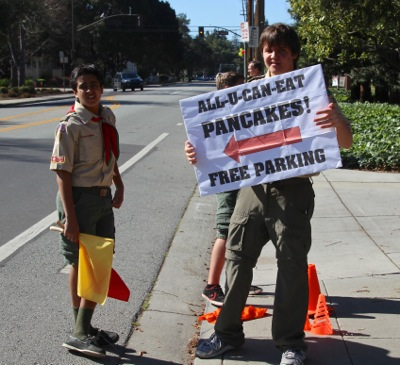 Post image for Boy Scout Troop 206 all-you-can-eat pancake breakfast set for March 8