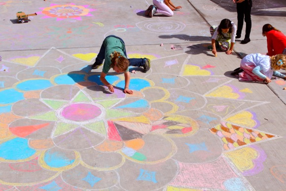 Encinal School's annual cultural arts day focused on India this year