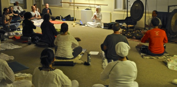 Kundalina yoga at Little House Activity Center in Menlo Park