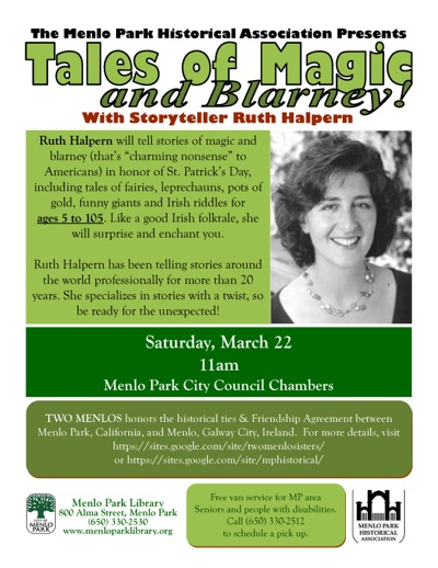 Post image for Celebrate St. Patrick's Day with tales of magic and blarney on March 22