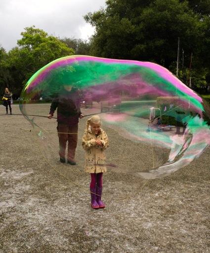 Rain doesn't dampen family fun at Filoli's Spring Fling