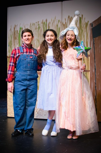 Jack with Dorothy and Glinda