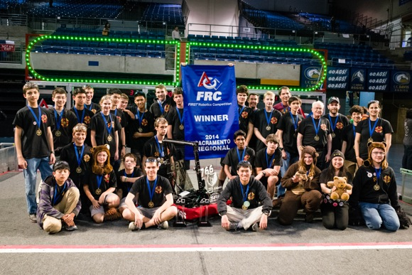 Post image for By winning Sacramento Regional Competition, M-A Robotics earn spot at Nationals