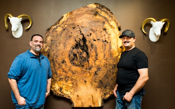 Post image for Menlo Hardwoods brings hand-crafted, live edge wood furniture to downtown Menlo Park
